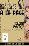 Une jeune fille à la page