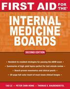 First Aid for the Internal Medicine Boards