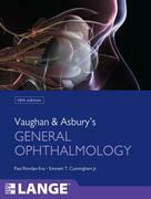Vaughan & Asbury's General Ophthalmology EB
