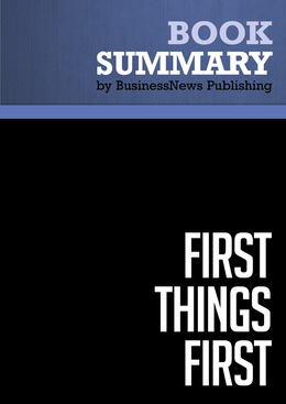 Summary: First Things First
