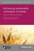 Achieving sustainable cultivation of wheat Volume 2