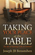 Taking Your Place at the Table: The Art of Refusing to Be an Outsider