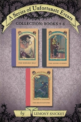 A Series of Unfortunate Events Collection: Books 4-6