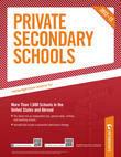 Private Secondary Schools 2012-13
