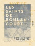 Les Saints de Boulancourt
