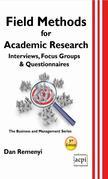Field Methods for Academic Research: Interviews, Focus Groups & Questionnaires