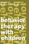 Behavior Therapy with Children: Volume 2