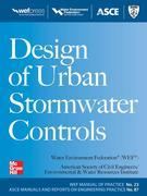 Design of Urban Stormwater Controls, MOP 23 : MOP 23