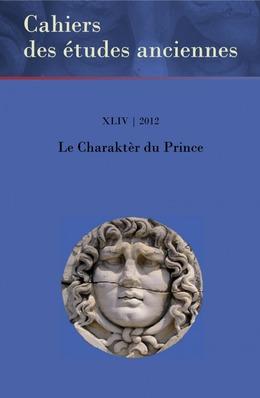 XLIX | 2012 - Le Charaktèr du Prince - Études anciennes