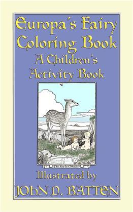 EUROPA'S FAIRY TALES COLORING BOOK - A Children's Activity Book