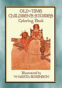 OLD-TIME CHILDREN'S STORIES Activity Colouring Book