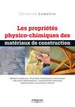 Les propriétés physico-chimiques des matériaux de construction