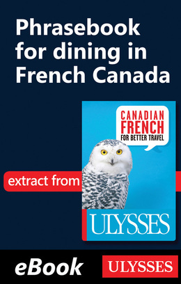 Phrasebook for dining in French Canada