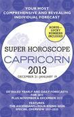 Capricorn (Super Horoscopes 2013)