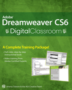 Adobe Dreamweaver Cs6 Digital Classroom