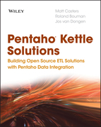 Pentaho Kettle Solutions: Building Open Source Etl Solutions with Pentaho Data Integration