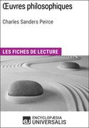 Oeuvres philosophiques de Charles Sanders Peirce