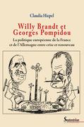 Willy Brandt et Georges Pompidou