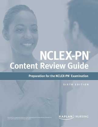 NCLEX-PN Content Review Guide