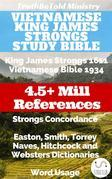 Vietnamese King James Strongs Study Bible