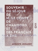 Souvenir du séjour de M. le comte de Chambord et des Français à Ems