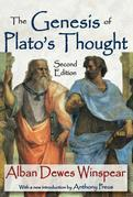 The Genesis of Plato's Thought: Second Edition