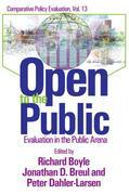 Open to the Public: Evaluation in the Public Sector