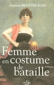 Femme en costume de bataille