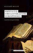 Existe-t-il une littérature européenne??