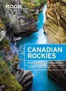 Moon Canadian Rockies