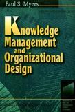 Knowledge Management and Organisational Design
