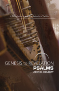 Genesis to Revelation: Psalms Participant Book [Large Print]: A Comprehensive Verse-by-Verse Exploration of the Bible