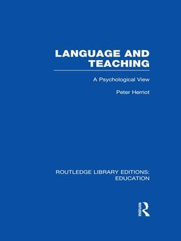 Language & Teaching: A Psychological View