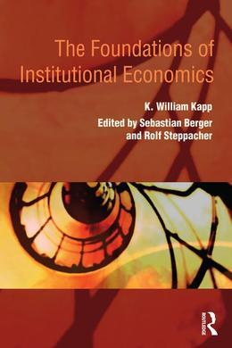 The Foundations of Institutional Economics