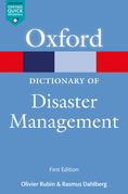 A Dictionary of Disaster Management