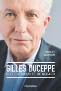 Gilles Duceppe, bleu de coeur et de regard