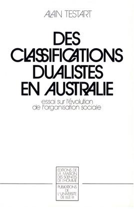 Des classifications dualistes en Australie