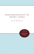 The Phenomenology of Henry James