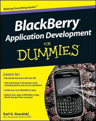 Blackberry Application Development for Dummies