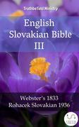 English Slovakian Bible III