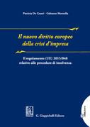 Il nuovo diritto europeo della crisi d'impresa