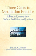 Three Gates to Meditation Practices: A Personal Journey Into Sufism, Buddhism and Judaism