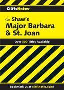 CliffsNotes on Shaw's Major Barbara & St. Joan