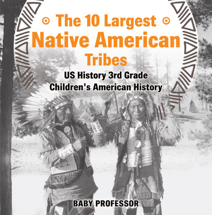 The 10 Largest Native American Tribes - US History 3rd Grade   Children's American History