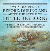 What Happened Before, During and After the Battle of the Little Bighorn? - US History Lessons 4th Grade | Children's American History