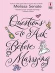 Questions to Ask Before Marrying