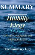 Hillbilly Elegy: By J.D. Vance