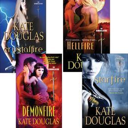 Kate Douglas DemonSlayer Bundle: Demonfire, Hellfire, Starfire & Crystal Fire