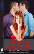A Fantasy Threesome: A collection of five erotic stories