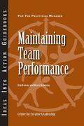 Maintaining Team Performance